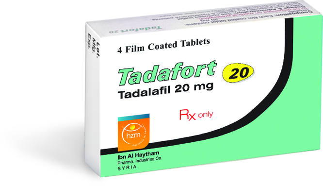 Tadafort 20 mg